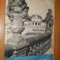 DER ZWINGER Ein Denkmal Des Dresdner Barock - 1969 - CARTE IN LIMBA GERMANA - Carte in germana
