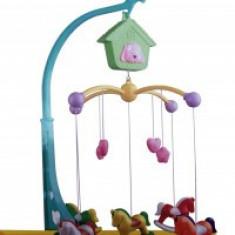 Carusel cu cheie fara baterie Baby Toys 1138 - Carusel patut