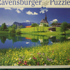 Ravensburger PUZZLE 2000 piese, size ca. 98 x 75 cm, No. 166602 Made in Germany, Carton, 2D (plan)