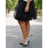 Pantofi cu toc Black & White - Pantof dama, Culoare: Negru, Marime: 37