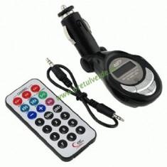 Modulator FM 10 in 1 wireless cu telecomanda - Modulator FM auto