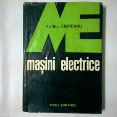 Aurel Cimpeanu - Masini electrice
