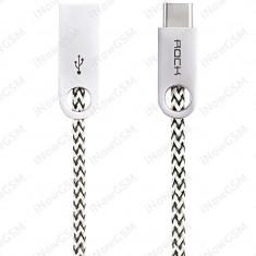 Cablu date alimentare USB Type C ROCK RCB0440 - Cablu USB Tableta