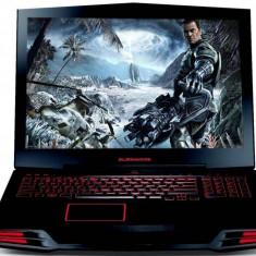 Laptop ALIENWARE, M17X, Intel Core i7-940XM Extreme Edition, 2.13 GHz, HDD: 1000 GB, RAM: 8 GB, video: nVIDIA GeForce GTX 580M, webcam