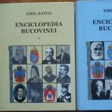 Emil Satco, Enciclopedia Bucovinei, Suceava, 2004, 2 volume - Carte de lux