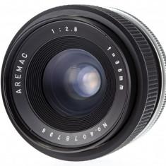M42 Aremac 35mm F2.8 pentru Canon Sony Fuji Olympus - Obiectiv DSLR Olympus, Wide (grandangular), Manual focus, Sony - E