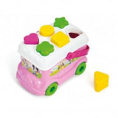 Autobuz de sortat forme Minnie Mouse Clementoni - Jocuri Forme si culori
