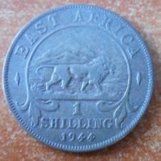 AFRICA DE EST 1 Shilling - George VI 1937-1946 Silver 7.78 g – ø 27.8 mm KM# 28, An: 1944, Argint
