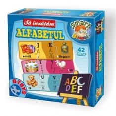 Sa invatam Alfabetul - Cutie mica 60310 SA 03 - Jocuri Litere si Cifre