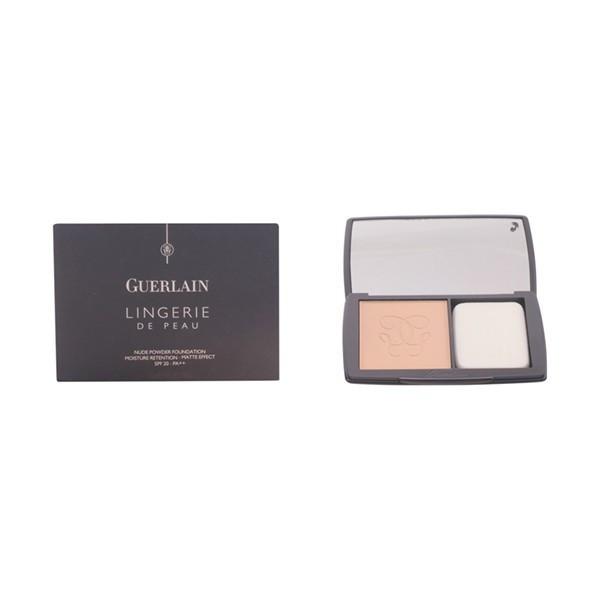 Guerlain - LINGERIE DE PEAU fdt compact poudre 02-beige clair 10 gr foto mare