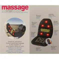 Saltea cu incalzire si masaj - Perna masaj