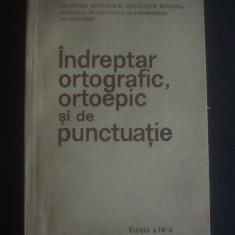 INDREPTAR ORTOGRAFIC, ORTOEPIC SI DE PUNCTUATIE 1983