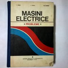 C. Bala, s.a. - Masini electrice Probleme