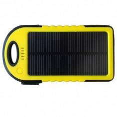 Incarcator solar universal ES500 5000mAh - Baterie externa