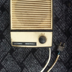 DIFUZOR RADIOFICARE, ELECTRONICA INDUSTRIALA .ANII 80 .