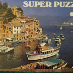 Super PUZZLE 750 piese, 59 x 39 cm, no. 89064 Made inWest-Germany, Carton, 2D (plan)