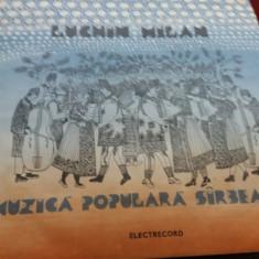 DISC VINIL 1 LUCHIN MILAN - MUZICA POPULARA SARBEASCA