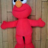 Jucarie mascota Elmo din Muppets Show Sesame Street show TV, 26cm, plus - Jucarii plus