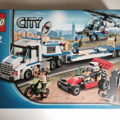 Lego City - Trailer - Transportator de elicoptere (60049)