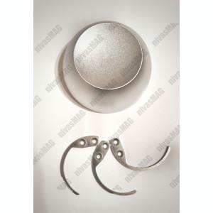 Magnet detasator pentru alarme,taguri + 3 carlige detasatoare- GARANTIE 12 LUNI-
