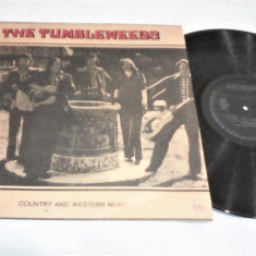 DISC VINIL THE TUMBLEWEEDS COUTRY AND WESTERN MUSIC ST-EDE O1073 STARE FB