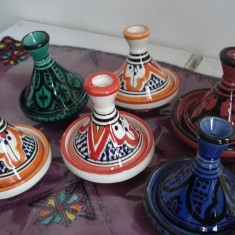 Set 6 Tajine/tagine - Rabat - Maroc - Arta Ceramica