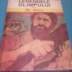 LEGENDELE OLIMPULUI EROII DE AL.MITRU 1983, BIBLIOTECA PENTRU TOTI COPII - Carte educativa