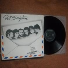 POST SCRIPTUM(varianta in romaneste)(1981) (vinil stare satisfacatoare) - Muzica Jazz electrecord
