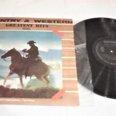 DISC VINIL COUNTRY&WESTERN GREATEST HITS III STARE EXCELENTA FARA ZGIRIETURI - Muzica Country