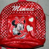 Ghizodan pentru fetite, Ghiozdanel gradinita, de zi, de scoala, Minnie Mouse. - Gentuta Copii