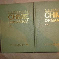 Chimie organica an 1980/editia a 8-a /1982pag- Nenitescu