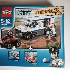 Lego City set de politie (60043+60001+7235)
