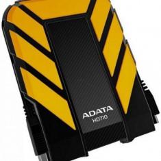 HDD Extern ADATA HD710 1TB USB 3.0 Yellow, 1-1.9 TB, Rotatii: 5400, 2.5 inch, 8 MB
