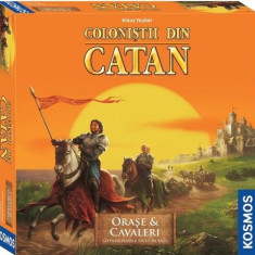 Colonistii din Catan-Extensie Orase si Cavaleri 3-4 Jucatori - Joc board game