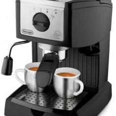 Espressor manual, DeLonghi EC 156.B, Negru, Mecanic, 1100 W, 1-2 cesti - Cafetiera