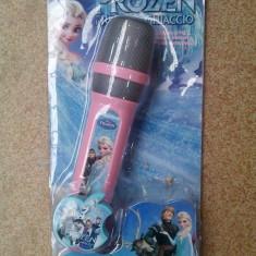 Microfon Frozen - Instrumente muzicale copii Altele
