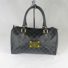 Geanta dama bleumarin speedy Louis Vuitton+CADOU, Culoare: Din imagine, Marime: Medie, Geanta de umar, Asemanator piele