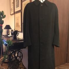 Palton barbati lana si alpaca, mas. 54, Culoare: Negru