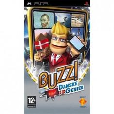 Buzz Danske Genier Dk Psp - Jocuri PSP Sony