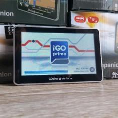 GPS Navigatii SPECIAL CAMION,256ram, 8GB, GPS TIR Full Europa iGO Primo TRUCK, 5, Toata Europa, Lifetime