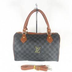 Geanta dama maro speedy Louis Vuitton+CADOU, Culoare: Din imagine, Marime: Medie, Geanta de umar, Asemanator piele