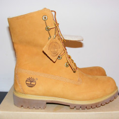 Ghete Timberland Fold Down Warm Lined A118C Waterproof Boots nr. 41 - Ghete barbati Timberland, Culoare: Din imagine, Piele intoarsa