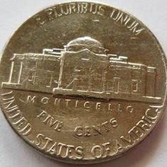 Moneda 5 Centi - SUA, anul 1976 Cod 1380, America de Nord