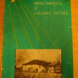 MCCB - VICTOR CRACIUN - MIHAI EMINESCU SI LOCURILE NATALE - ED 1971