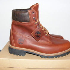 Ghete Timberland Earthkeepers Heritage 5902R Rugged Mens Boots Leather NR. 41 - Ghete barbati Timberland, Culoare: Din imagine, Piele naturala