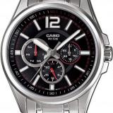 Ceas CASIO MTP-1355D-1AVEF nou original 100% - Ceas barbatesc Casio, Casual, Quartz, Inox, Piele, Data