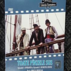 TOATE PANZELE SUS, EPISODUL 1 SI 2 . DVD 1 BUCATA - Film Colectie, Romana