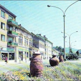 Tarnaveni (Mures), Str.Republicii, 1971 - Carte Postala Transilvania dupa 1918, Circulata, Printata