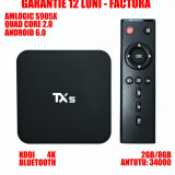 Media player TV BOX PC TX5 4K, S905X, QuadCore 2.0GHz, 2GB DDR3, 8GB, Android 6.0 - Mini PC Amlogic