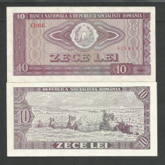 ROMANIA 10 LEI 1966 UNC [1] P-94, necirculata - Bancnota romaneasca